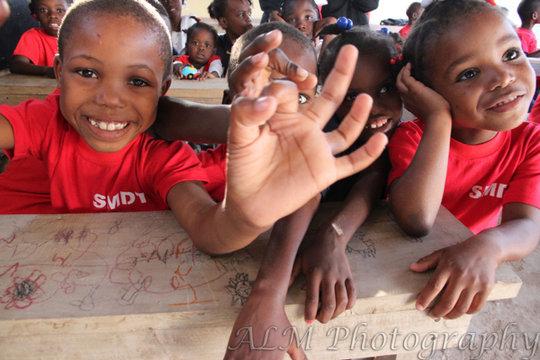 Joy for 30 Haitian Orphans
