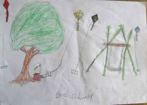 Ishwor's drawing
