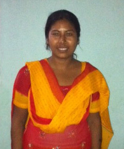 Raj, former child weaver turned teacher