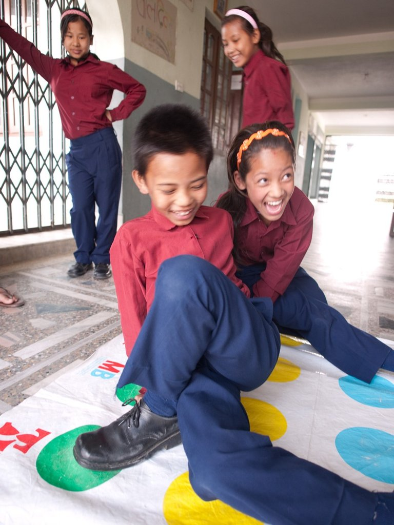 Children play at GoodWeave