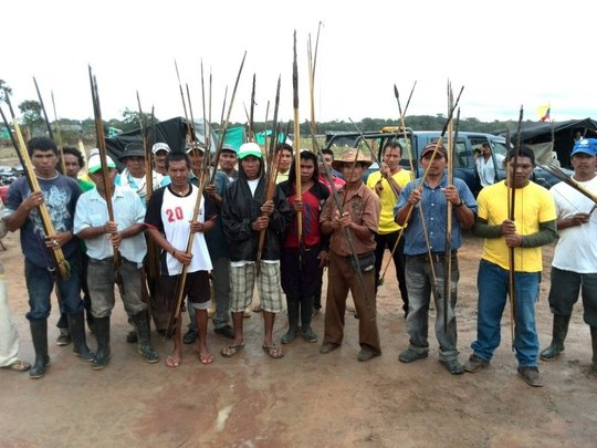 Indian Guard, Land Reclamation, Cumaribo, Vichada