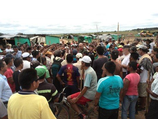 Recent conflict in Cumaribo, June 2014.