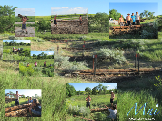 "Support the Lakota ""Mni"" Water Restoration Camp"