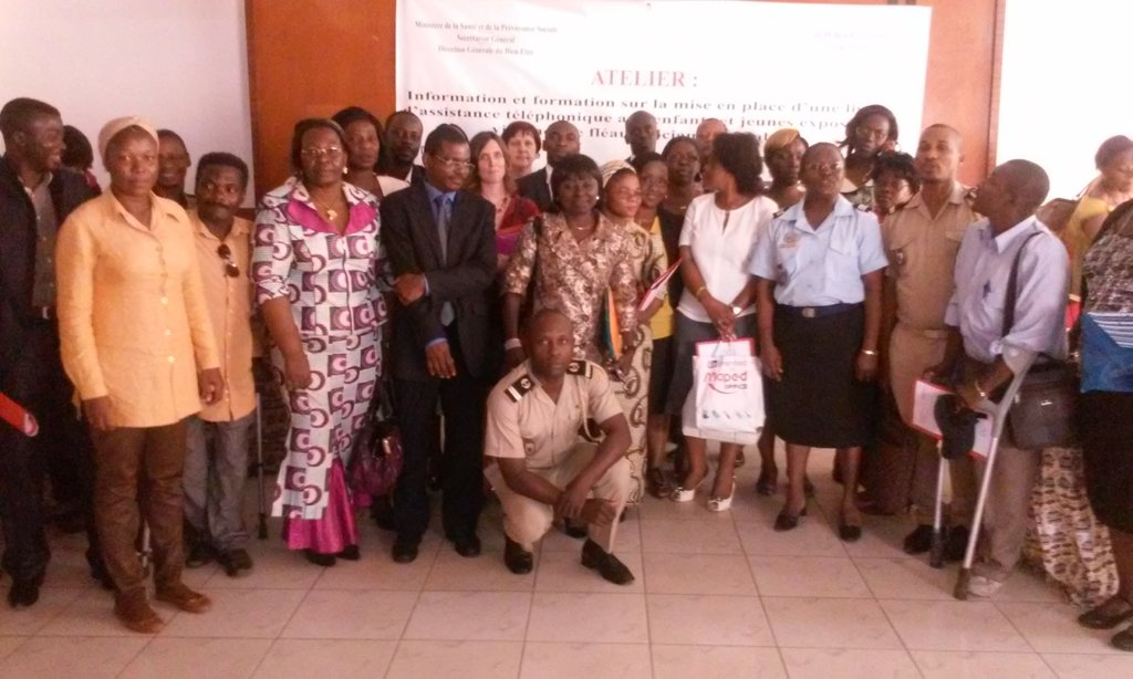 Helping Gabonese children access their rights