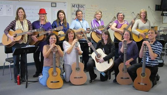 Teachers in Vista become Songleaders for Learning