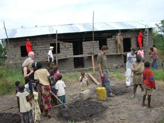 #1: Building a home for a widow