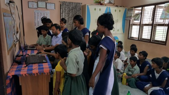 Computer Skills Training for Underprivileged Child