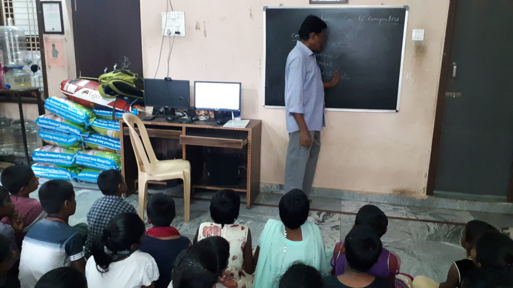 NGO Giving Online classes to Orphan Children India