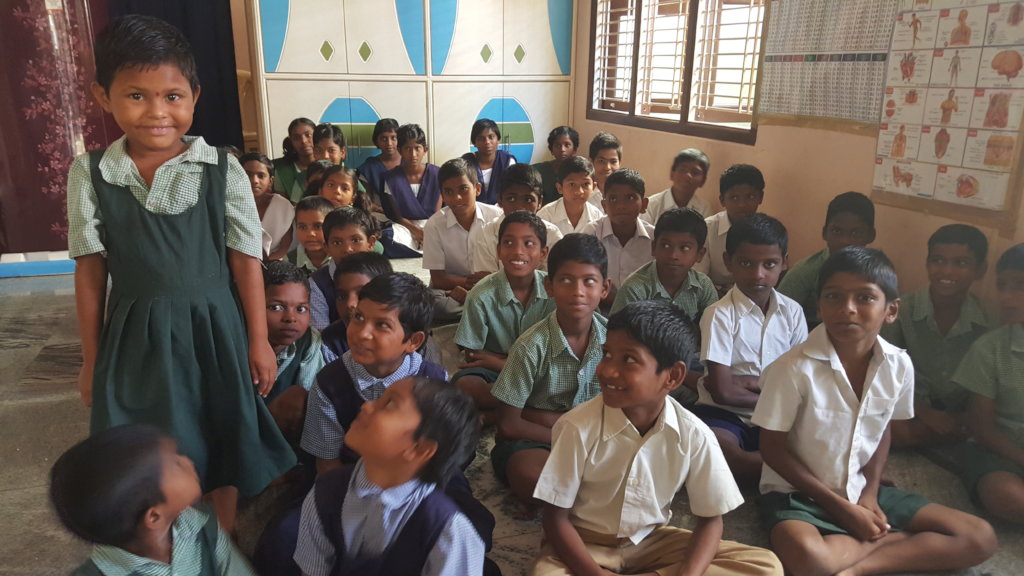 Orphan girl child in andhra pradesh empowering by