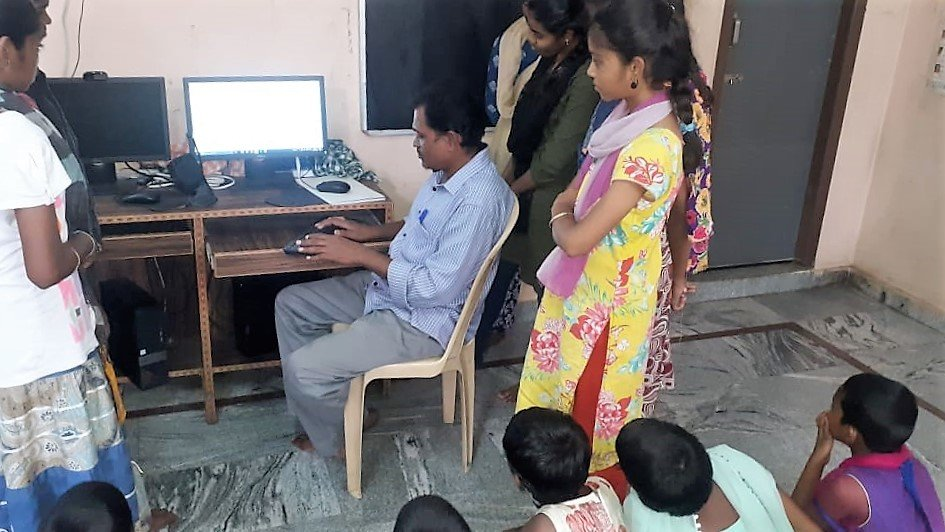Soft skills donation for orphan children in andhra