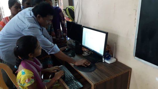 best ngo india giving computer training to orphan