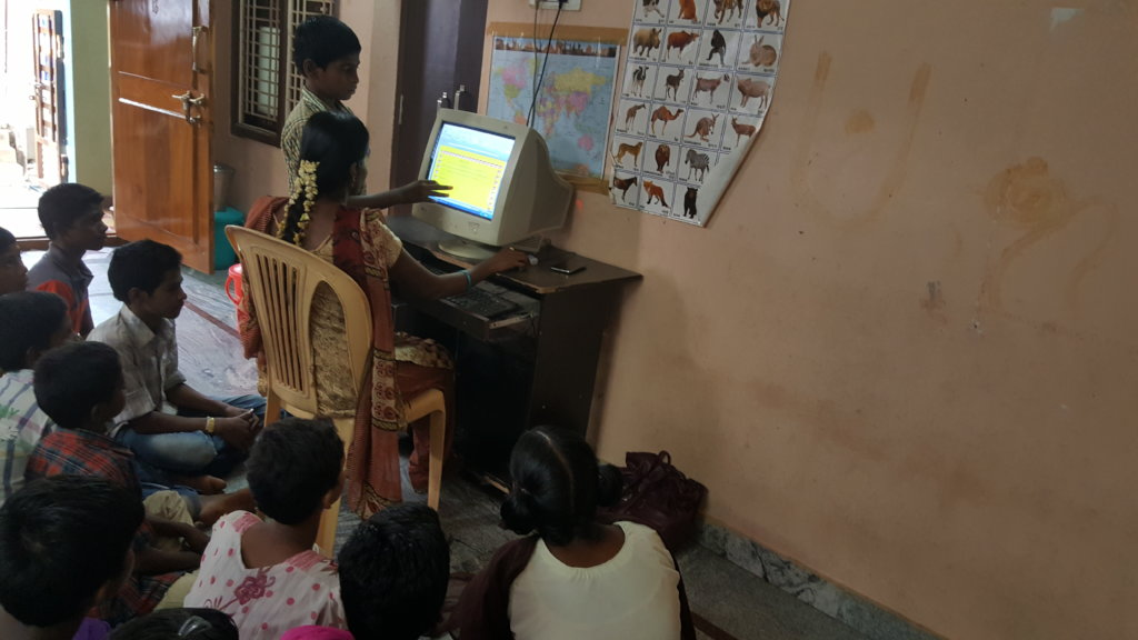 job oriented skills in computer training to youth