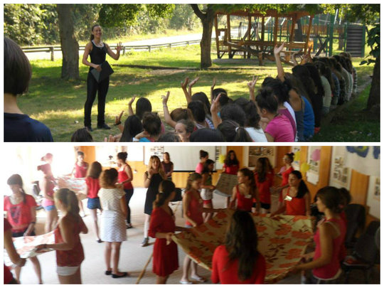 Our sessions included lectures and games