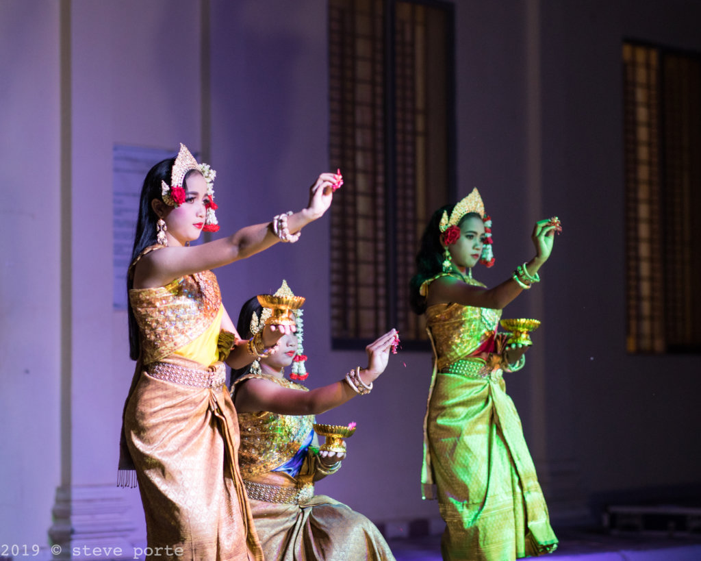 Robam Chuon Puor (Blessing Dance at KCDI)