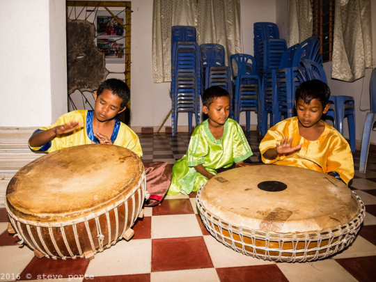 Learning the Yike drums