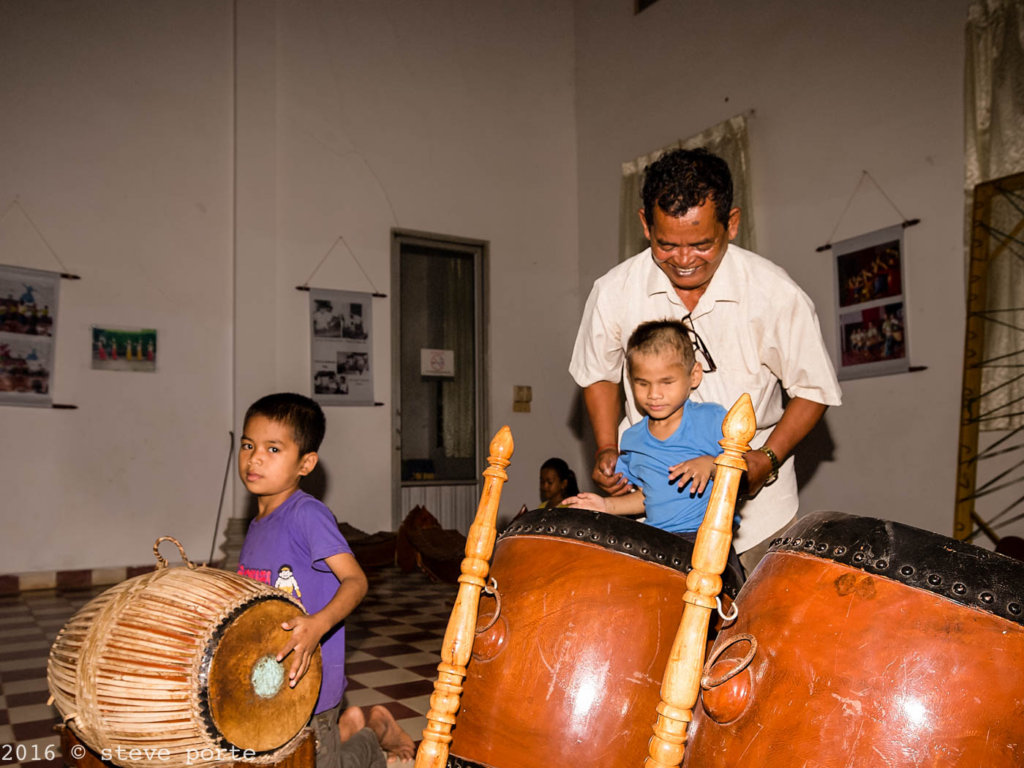 Teaching The Drums To Our Blind And Deaf Boy