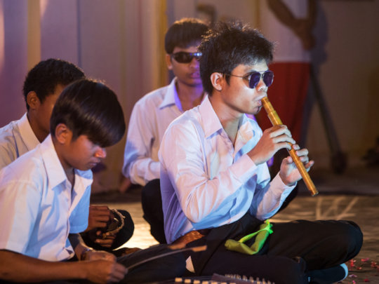 Official performance by our students