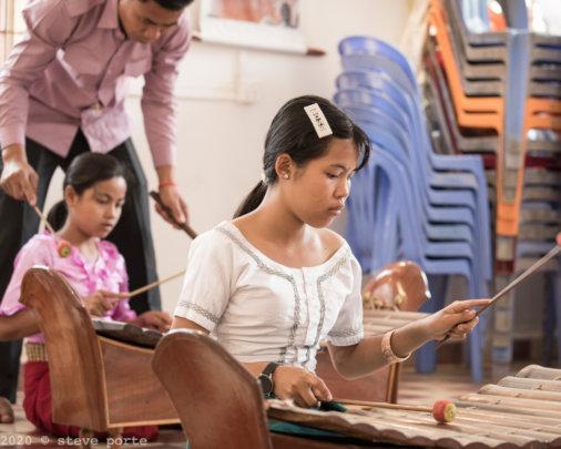 Pin Peat music lesson