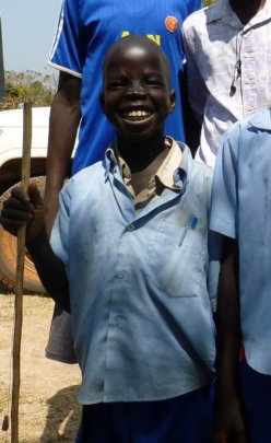 ...then your gifts changed Akol's life!