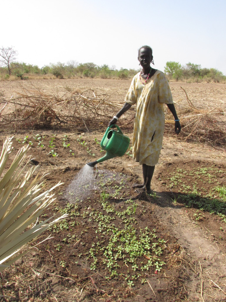 Villages in South Sudan are growing thanks to you!