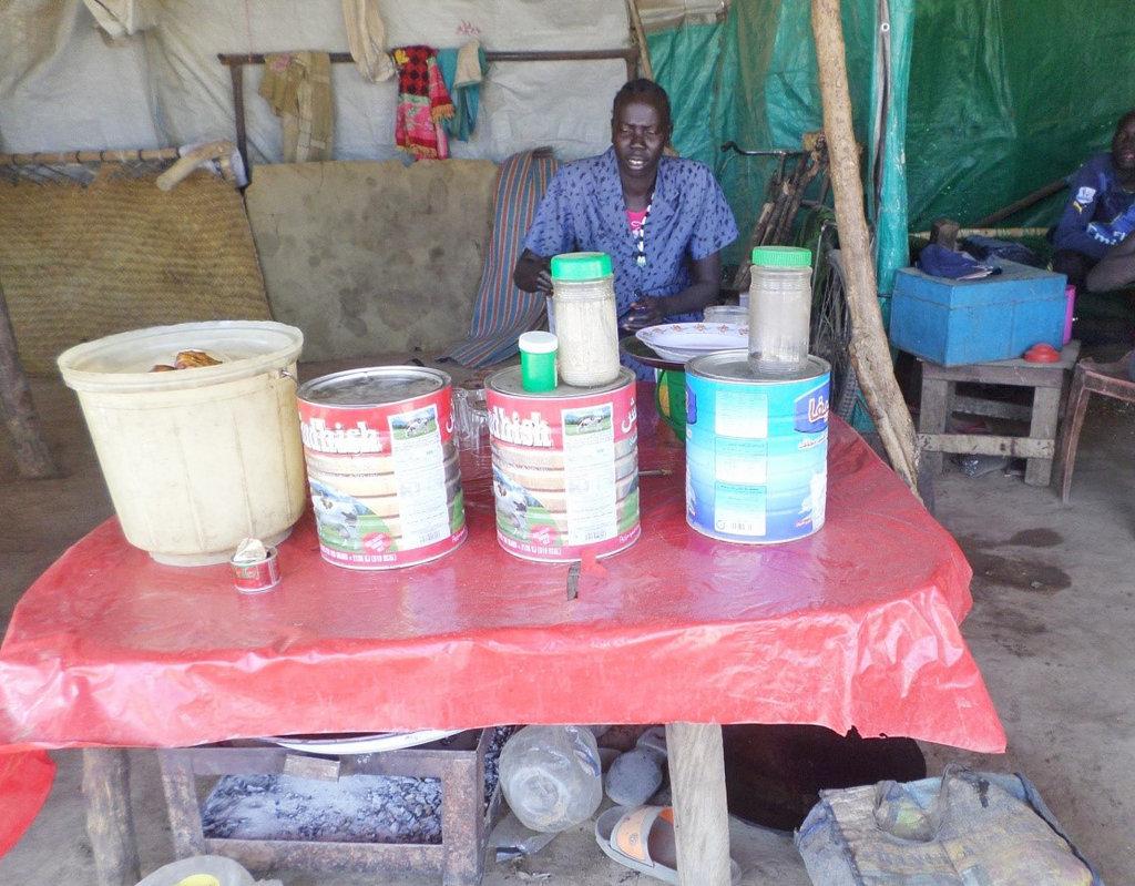 You helped Nyariak open a tea shop for income!