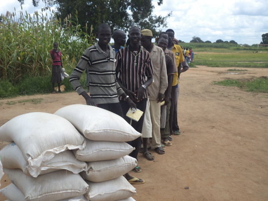 Your gifts are helping provide emergency food.