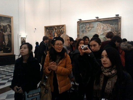 Visiting Italian Art Museum