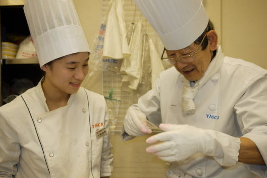 Ayaka with Instructor
