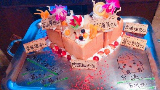 Fuka's Honey Toast Creation