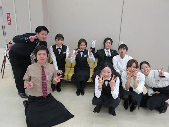Hiroki (on left) - 2nd year student