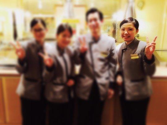Yuuka at Yokohama Royal Park Hotel Internship