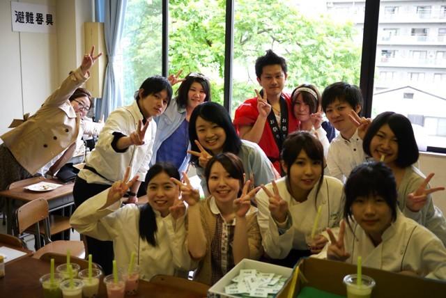 Sendai YMCA Hotel School Students