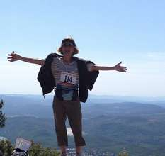 HIKE 4 HEALING: Our own Anthy reaches the summit