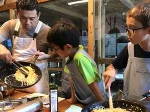 Chef providing opportunities for children
