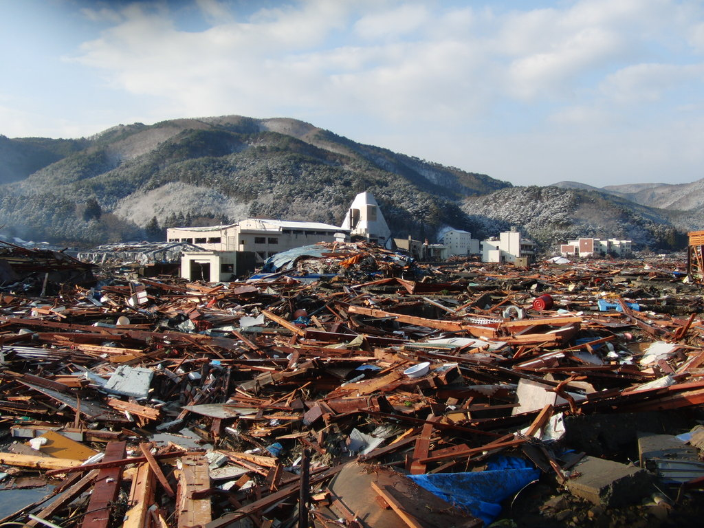 Rebuilding community from tsunami with education