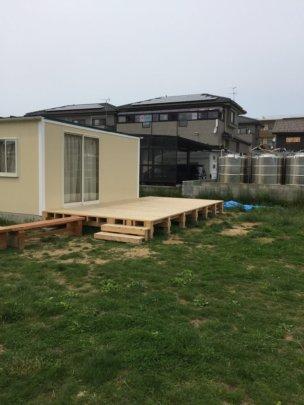 Kodomo Company playground with Endo-san's new deck