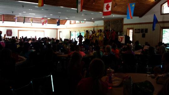 Camp Thunderbird Campers enjoy Performance