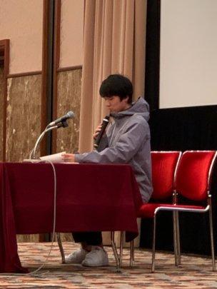 Ren Speaks at TAMF Mirai Kikin Symposium