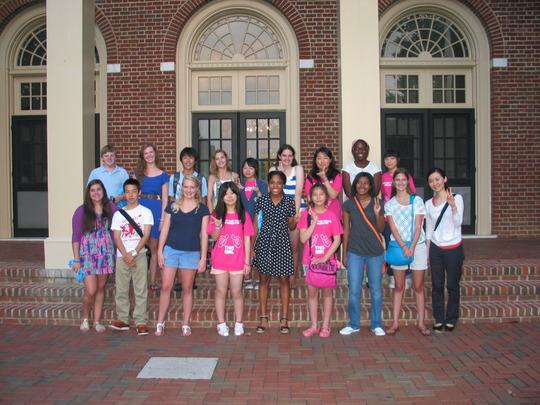 Ishinomaki Students with St. Catherine's Students