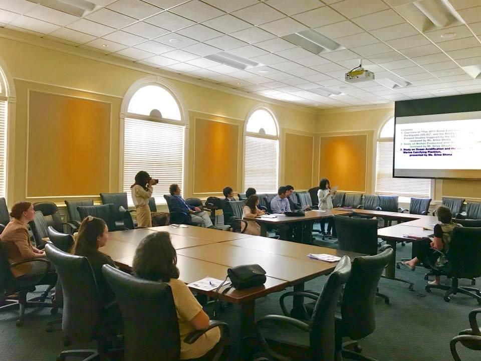 ISU Research Paper Presentation at R-MC