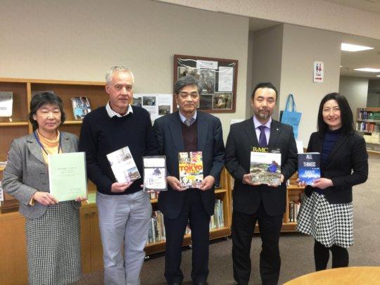 Ishinomaki Senshu University Taylor Bunko Visit