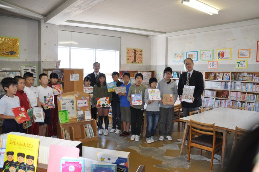 Taylor Bunko Outreach at Ishinomaki ES