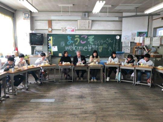 Ishinomaki ES Taylor Bunko Outreach Lunch
