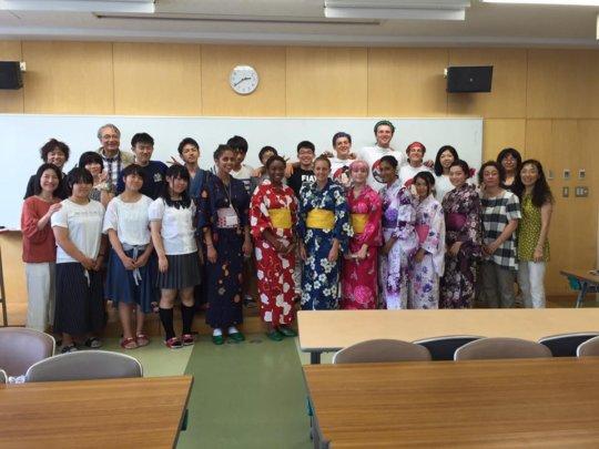 Ishinomaki HS & Richmond Students - 2016 Exchange