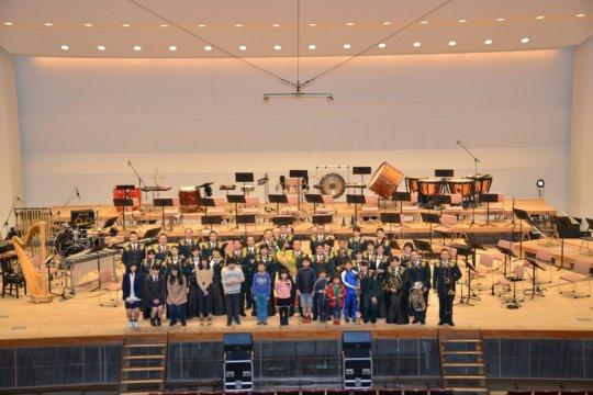 Ishinomaki Junior Jazz Orchestra at SDF Concert