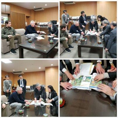 Ishinomaki Mayor Visit