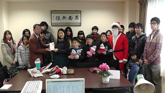 Kesennuma Children's Home Christmas Wish Program