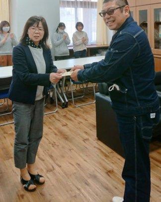 Endo-San and Kitakami ES Principal