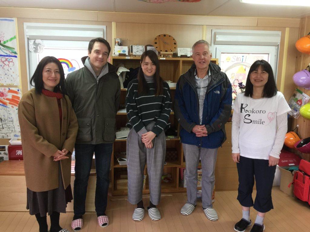 Kokoro Smile Grief Care Center Visit