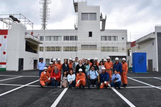 R-MC - ISU Exchange visit Ishinomaki Fire Dept